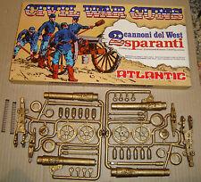 ATLANTIC  691 1/32 CIVIL WAR GUNS 2 CANNONI DEL WEST SPARANTI (SOLDATINI)