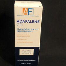 Acne Free Adapalene Gel Retinoid Acne Treatment .1% 0.5oz Oil Fragrance Free