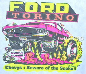 1970 Ford Torino Vintage 70's NOS t-shirt S-XL R172