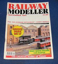 RAILWAY MODELLER VOLUME 42 NUMBER 490 SEPTEMBER 1991 - ALTON