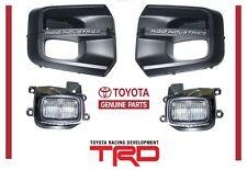 2016-2020 Toyota Tacoma Rigid Industries LED Fog light Kit W/ bezels TRD PRO OEM
