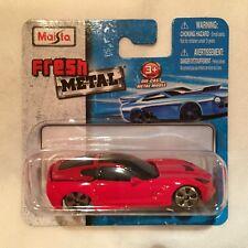 Maisto 1:64 2014 Corvette Stingray - Fresh Metal Diecast
