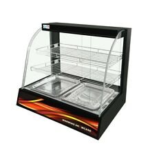 More details for electric countertop commercial pie warming hot food cabinet display