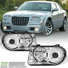 Factory Style 2005 2006 2007 2008 2009 2010 Chrysler 300c Headlights Headlamps Fits 300