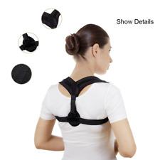 New Elastic Posture Corrector Back Compression Brace Belt Clavicle Support