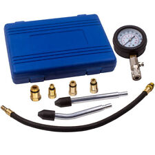 Gas Engine Cylinder Compression Pressure Tester Gauge Adapter Tool Set Kit