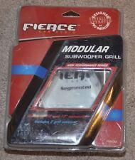 "Fierce Modular Subwoofer Grill fiwgm for 10"" and 12"" subwoofers new"