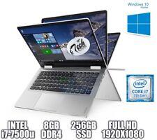 LENOVO YOGA 710 14-IKB FHD TOUCHSCREEN INTEL i7-7500u 8 GB Ram 256 GB SSD WIN10
