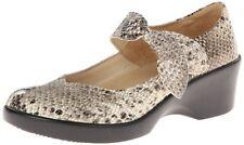 Alegria Women's Ella Dress Pump Gold Span Snake Leather Shoe Sizes 5 - 11