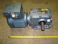 SEW Eurodrive S60D24BDT90S4 electric gear motor 12.39:1 ratio 3 phase 460 volt