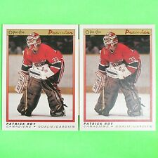 Lot of 2   PATRICK ROY  1990-91  OPC  PREMIER  #101   Montreal Canadiens