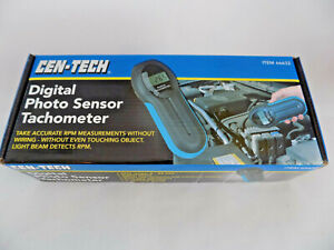 DIGITAL PHOTOSENSOR TACHOMETER by Cen-Tech