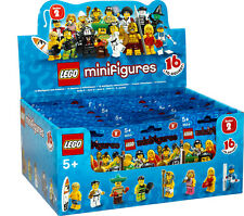 New Factory Sealed LEGO 8684 Box/Case of 60 Minifigures Series 2