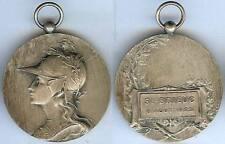 Gymnastique - SAINT BRIEUC 1922  concours de gymanstique d=40mm argenté