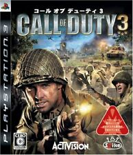 Gebraucht PS3 PLAYSTATION 3 Call Of Duty 3 09033 Japan Import