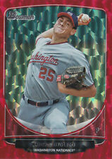 2013 Bowman Prospect Red Ice LUCAS GIOLITO RC Rookie Card # 24/25