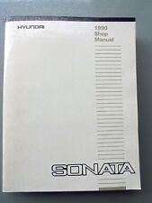 1990 HYUNDAI SONATA 4CYL. GENUINE FACTORY WORKSHOP MANUAL