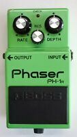 BOSS PH-1R Phaser Vintage Guitar Effects Pedal made in Japan 1984 #A82
