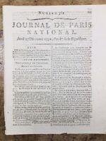 Procès du Roi Louis 16 1792 Louis Capet Interrogatoire du Roi Révolution France