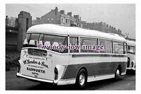 gw0040 - Landers of Rainworth Coach 833 HVO at Blackpool in 1961 - photograph