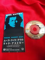 """RICK ASTLEY Move Right Out / Japanese 3"""" mini CD single JAPAN / UK DESPATCH"""