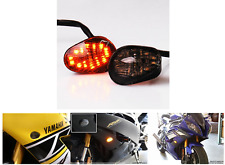 LED SMOKE TURN SIGNALS INDICATORS FOR Motorcycle 2003-2014 Yamaha Yzf R1 R6 R6s