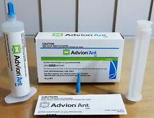 2 X 30g Syngenta Advion Ant Killer Gel Bait Home Office Factory Pest Control