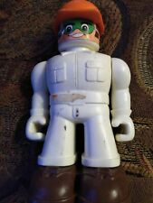 "Vintage 1980's Tomy - Big Bolt Construction Work 4"" Action Figure"