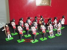 Britains 41175 Grenadier Guards TAMBURO E Fife BAND METAL Toy Soldier Figure Set
