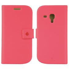 FENICE Diario Samsung Galaxy S III Mini Premium Italian PU Leather Case - Pink