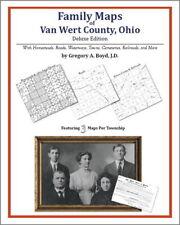 Family Maps Van Wert County Ohio Genealogy Plat History
