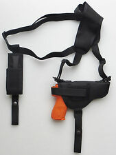 Shoulder Holster for SPRINGFIELD XDM 3.8 with Underbarrel Flashlight - Mag Pouch