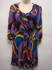 NWT INC International Concepts Multi-color  Dress Size Medium Retails$119 Nice!!