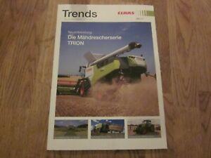 1Prospekt Claas Trends 4/2021 TRION QUADRANT EVOLUTION CEMOS Vierkreiselschwader