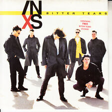 "INXS  Bitter Tears PICTURE SLEEVE 7"" 45 rpm record NEW + juke box title strip"