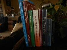 lot of 11 collection of Alcoholics Anonymous Books Lois Remembers AA Alanon etc