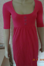 AMARA PINK BUTTON FRONT DRESS SZE 8 RRP £35 CLEARANCE