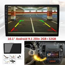 "10.1""Android 9.1 2Din Car Stereo Radio GPS Wifi OBD2 Mirror Link Player GPS Navi"