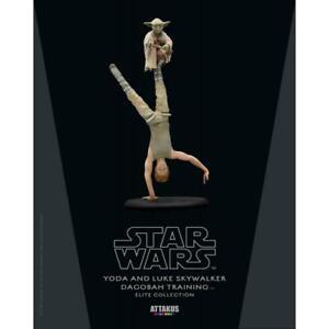 ATTAKUS Star Wars Elite Collection Statue Yoda & Luke Skywalker Dagobah Training