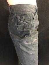"BNWT DIESEL Gents Famous Narrot 0857E Black 3/4 Length JoggJeans W 42"" RRP £300"