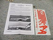 Flight Path decals 1/144 FP44-272 Arrow Air Red DC-10     Box 5