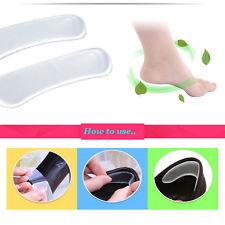 COPPIA di 2 X Invisible Heel FODERE Grip SCUDI Gel Cuscino in silicone proteggere # 382-8