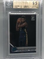 2019-20 Optic Zion Williamson #158 RC BGS 9.5 Gem Mint 10 Centering