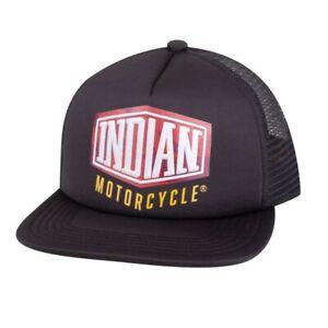 Indian Motorcycle Genuine Apparel - Flatbill Camo Trucker Hat