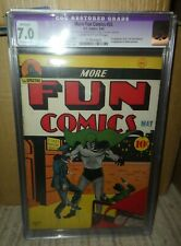DC More Fun Comics 55 7.0 CGC 1st Ever Dr Fate appearance High grade 1940