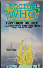 RARE: Doctor Who - Fury from the Deep. 1st Target Books edition.