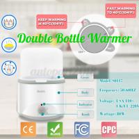 Milk Warmer Heater Electric Double Bottle Sterilizer Constant    !! !! S !D @ L
