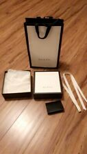 Authentic Gucci Gift Box/bag Set
