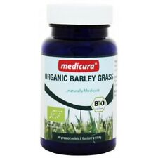 GREEN BARLEY GRASS MEDICURA Bio   165 Tablets   Detox Weightloss Mlody Jeczmien