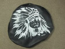 American Indian Chief Tire Cover 27""